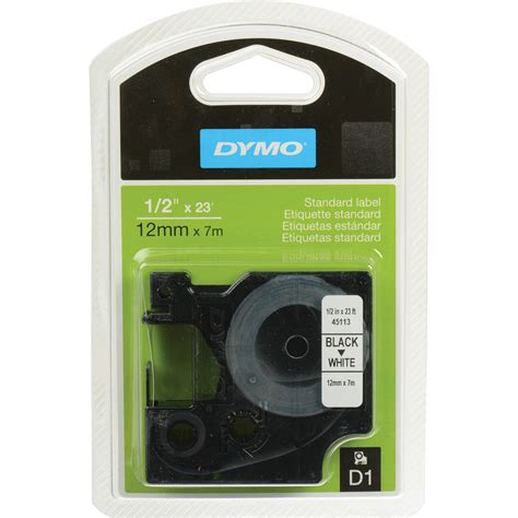 dymo label cassette dymo 45113 d1 cassette 45113 b h photo