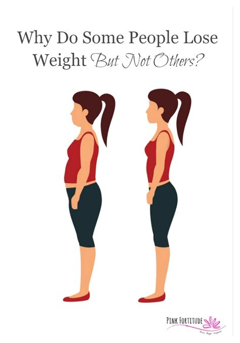 How Did Shed All That Weight by Why Do Some Lose Weight And Not Others Pink