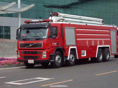volvo trucks china fire engines photos volvo fm12 pumper dalian fire