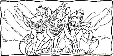 lion king hyenas coloring pages hyena lion guard coloring page coloring pages