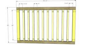 Baby Crib Specifications Free Diy Furniture Plans To Build A Land Of Nod Inspired Low Rise Crib The Design Confidential