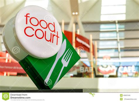 Food Court Sign Board Design | food court sign stock photo image 45661045