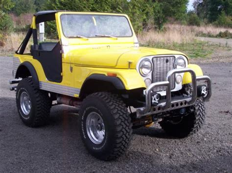 cj jeep yellow image gallery yellow cj7
