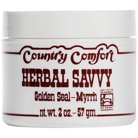 country comfort herbal savvy country comfort herbal savvy golden seal myrrh ointment
