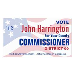 business cards for political candidates political caign county commissioner business business card