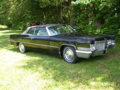 1970 Cadillac 2 Door by Sell Used 1970 Cadillac Base Convertible 2 Door 7 7l In Piney River Virginia United States