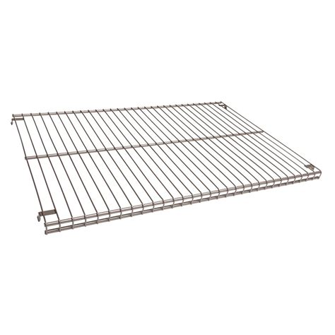 closetmaid wire shelving closetmaid superslide 72 in w x 16 in d nickel ventilated wire shelf 34735 the home depot