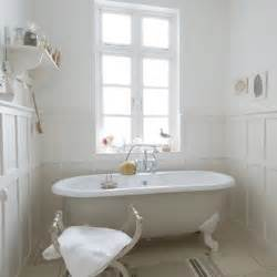 White panelled bathroom country style bathrooms decorating ideas