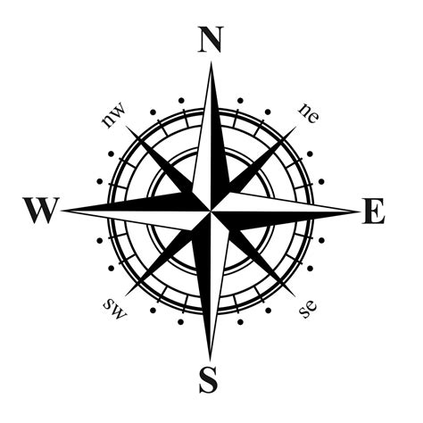 nautical compass rose tattoo compass nautical vinyl decal all the pretty