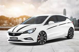 2016 Opel Astra Irmscher Plans Upgrade Package For 2016 Opel Astra