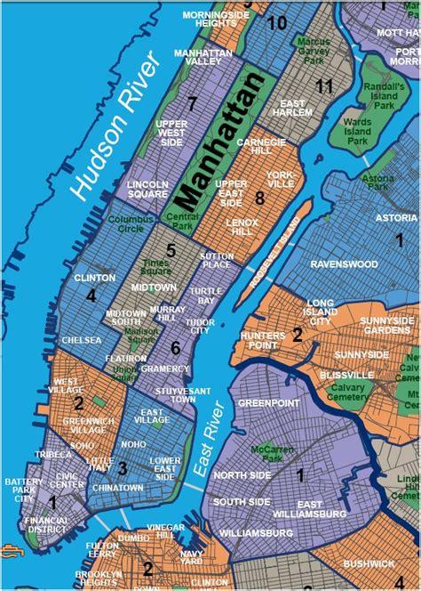 map of manhattan neighborhoods bluclover renting in nyc no longer daunting