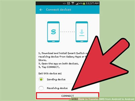 transfer sms from android to android how to transfer sms from android to android with pictures