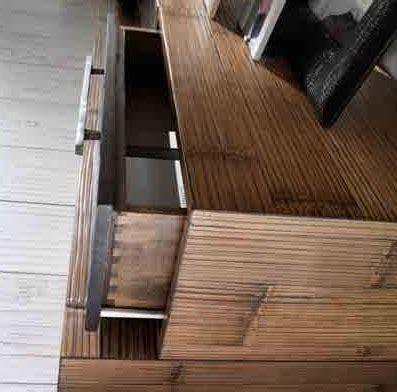 soggiorno etnico moderno soggiorno etnico moderno in legno e crash bambu nuovimondi