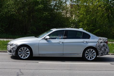 bmw 3 series facelift 2016 2016 bmw 3 series facelift wheelbase model spied