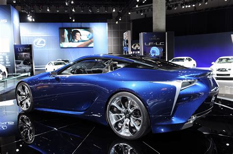 lexus lf lc blue 2012 lexus lf lc blue concept cars wallpapers