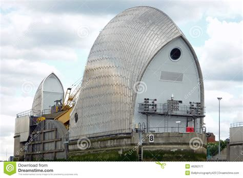 thames barrier power generation close up of the thames barrier stock image image 46262177