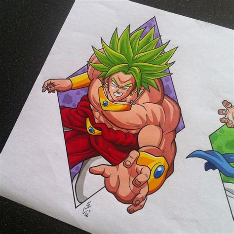 broly tattoo design by hamdoggz on deviantart