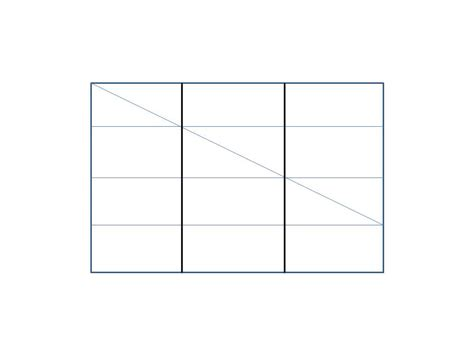 How To Fold A Paper Into 3 Equal Parts - geometry how can i fold paper into 3 x 4 grid or prove