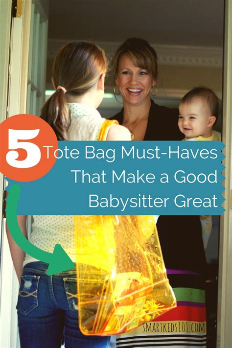 8 Great Babysitting Tips by 5 Tote Bag Must Haves That Will Make You Great
