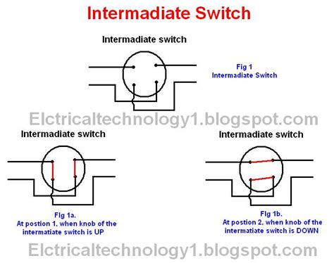 intermediate switch wiring diagram dual switch wiring