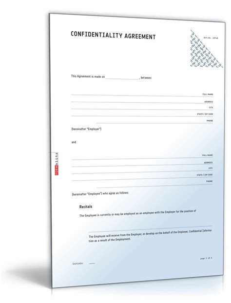 confidentiality and non competition agreement for