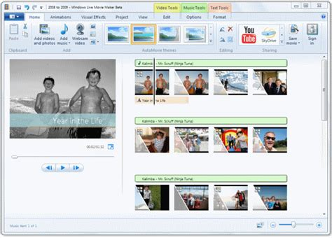 themes for windows movie maker live microsoft unveils windows live essentials wave 4 ars