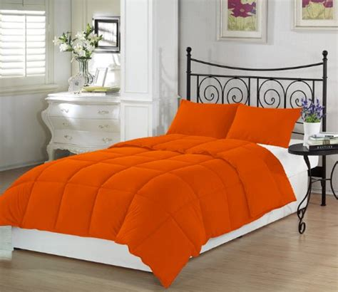orange comforter 10 fun bright orange comforters and bedding sets