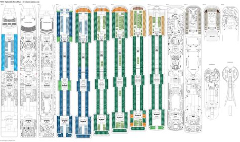 Msc Splendida Deck 9 Deck Plan Tour