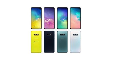 samsung galaxy se canary yellow image leaked dimensions
