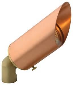 Copper Landscape Lights Hinkley Copper Low Voltage Landscape Spot Light Contemporary Outdoor Lighting By