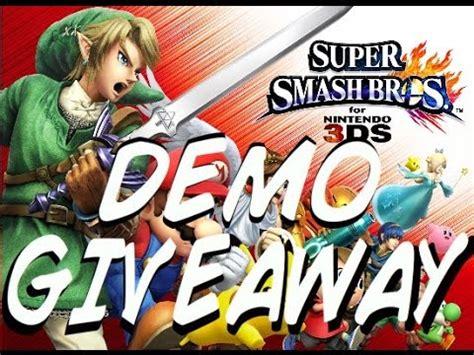 Super Smash Bros 3ds Download Code Giveaway - full download mewtwo giveaway super smash bros 3ds closed