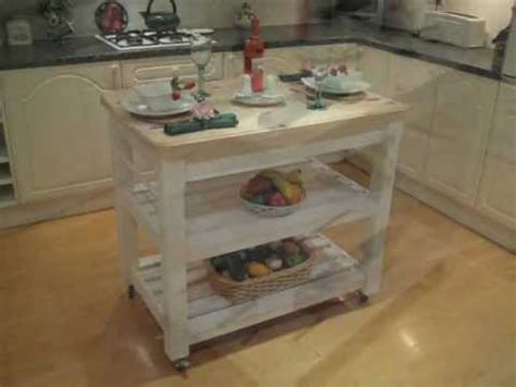shabby chic kitchen island shabby chic butchers block style kitchen island table