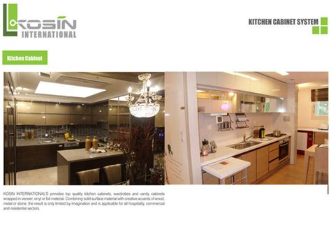 kitchen cabinet system kosin kitchen cabinet system id 5622970 product details