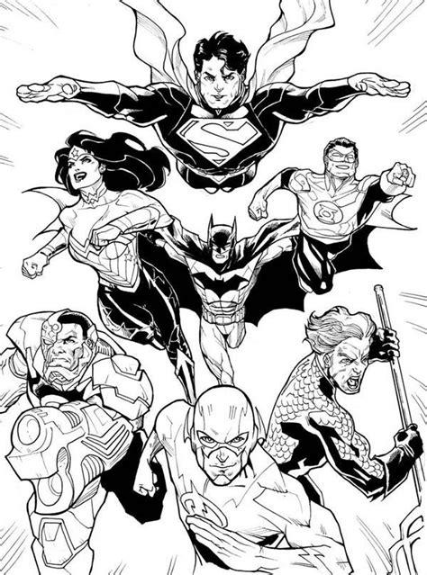 coloring dc free justice league coloring pages az coloring pages