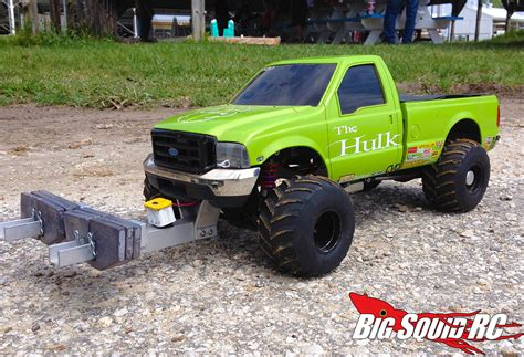 rc truck event coverage central illinois r c pullers 171 big squid