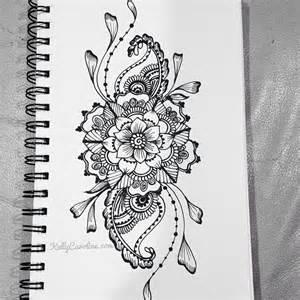 henna thigh tattoo on pinterest