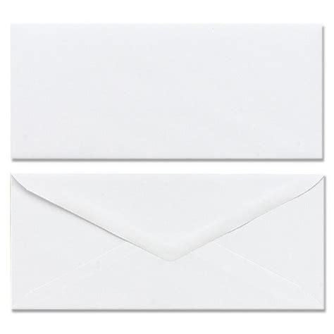 plain envelope template mead plain business size envelopes mea75100 shoplet