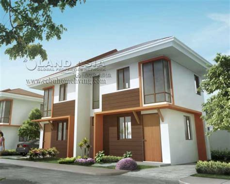 Low Cost Duplex Living Rooms Design Philippines House Plans 2 Storey Duplex In Philippines Studio