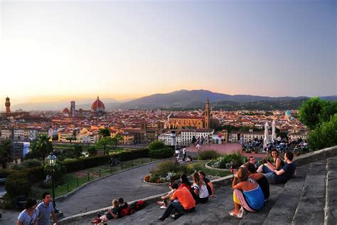 Square Foot by Piazzale Michelangelo Florence
