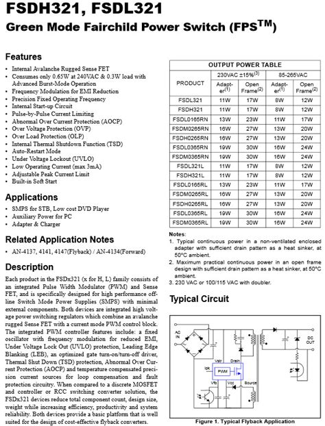 Dh321 Fsdh321 Dip 8 Power Management Chip Dip 8pin Ic Bb63 fsdh321 ไอซ สว ทช งเพาเวอร ซ พพลาย green mode fairchild power switch fps tm
