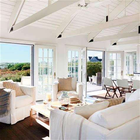 Nantucket Interiors by Living Room After Nantucket Cottage Makeover Coastal