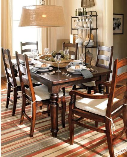 Pottery Barn Dining Room Tables Knockout Knockoffs Pottery Barn Sumner Dining Table Inspiration Room The Krazy