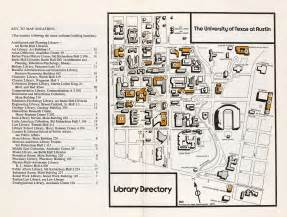 map of university of texas historical cus maps university of texas at perry casta 241 eda map collection ut