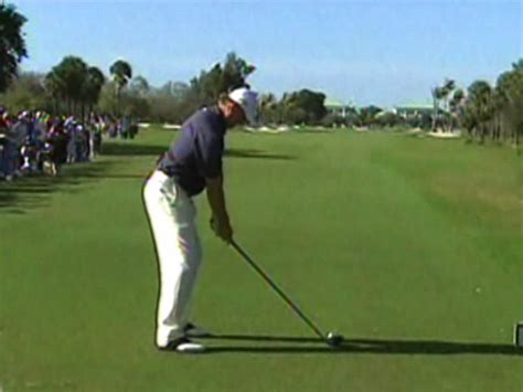 ernie els iron swing first tee leading prince golf clubs irons like that far