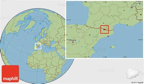 andora map location of satellite 101 satellite topography elsavadorla