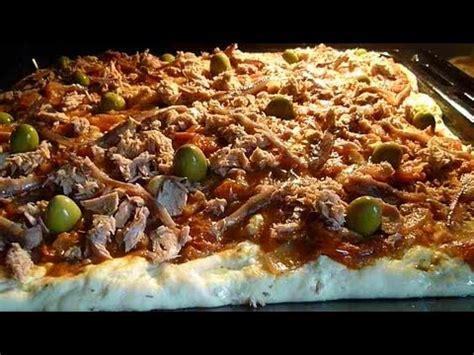 cuisine tunisienne en vid駮 pizza tunisienne recette tunisienne