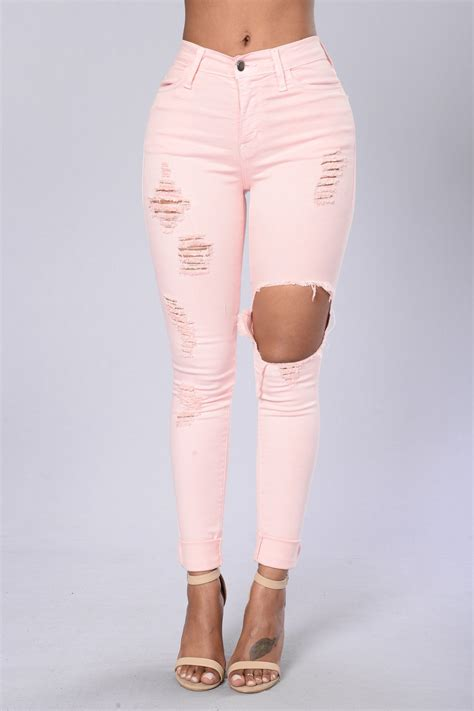 what to wear with light pink pants glistening jeans light pink