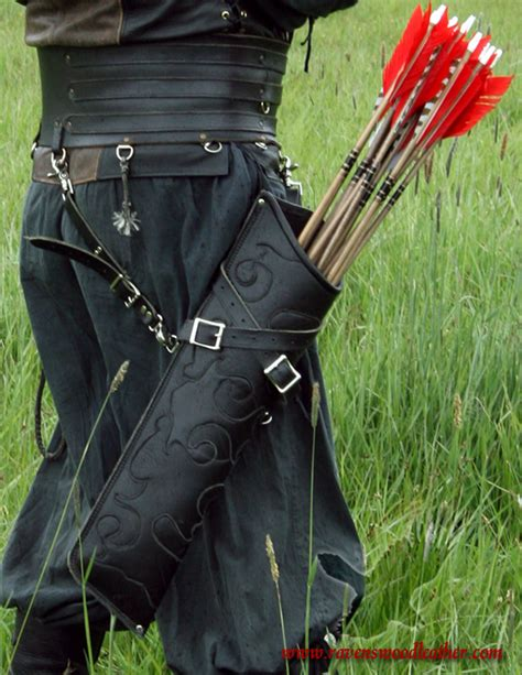 bowback pattern knife elven quiver style 1