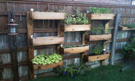 herb garden planter box decorative garden planters diy vertical herb garden