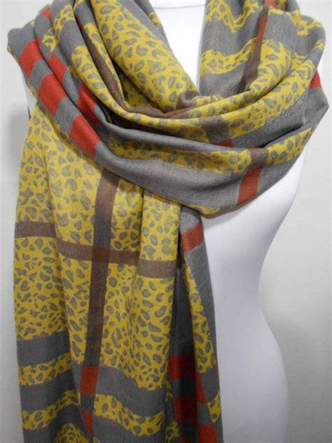 Leopard Yellow Mustard on sale mustard yellow plaid leopard scarf shawl animal